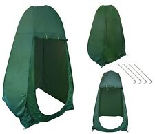 Portable Pop UP Camping Fishing Bathing Shower Toilet Changing Tent Room Green