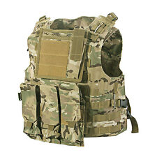 SWAT Combat Molle Assault Plate Military Army Airsoft Tactical Vest Adjustable