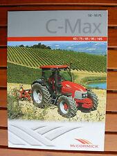 McCormick C-Max Traktoren - Prospekt Brochure 02.2005 (0468-2