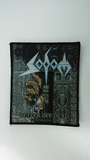 Sodom Better off dead 1991 RARE vintage music patch Sew On