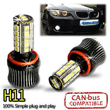 27 SMD LED CANBUS XENON WHITE FOG LIGHT BULBS - BMW E60, E90, E92 - H8 H11