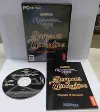 Gioco Game Computer PC CD-ROM ITALIANO NEVERWINTER NIGHTS SHADOWS OF UNDRENTIDE