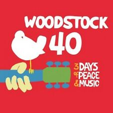 WOODSTOCK-40 YEARS ON:BACK TOYASGUR'S FARM 6 CD NEU