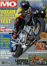 mo 4/01 2001 Laverda 750 SFC Aprilia RST 1000 Futura Buell X1 Voxan Café Racer