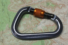 Black Diamond Mini Pearabiner Screwgate Carabiner Climbing Rock Trad Locking SG