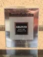 Argento EDT Spray 3.4 fl. oz. by Renato Balestra for Men *SEALED*