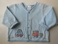 PUMPKIN PATCH BABY BOY SOFT VELOUR JACKET SIZE 0 FITS 6-12M EC