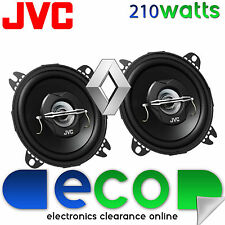 Renault Clio 1990-1998 JVC 10cm 4 Inch 420 Watts 2 Way Rear Hatch Car Speakers