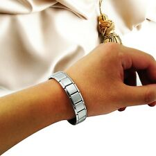 Titanium Steel Germanium Health Bracelet Power Nano Energy Magnetic Balance Lon