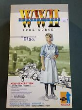"Dragon Models WWII 1/6 scale 12"" Russian DRK Nurse Elsa Action Figure #700391"
