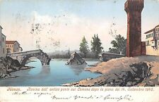 9458) FAENZA ROVINA DELL'ANTICO PONTE SUL LAMONE DOPO LA PIENA DEL 14/9/1842.