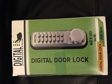 Doorlocks .Co.Uk 2435 digital door lock. 2000 series SC finish