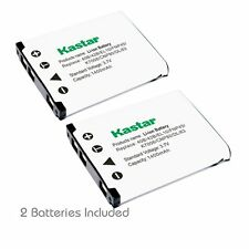 2x Kastar Battery for Fujifilm NP-45 FinePix JX205 JX250 JX255 JX280 JX300