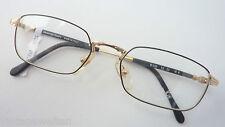 Nazareno Corsini Metallrahmen Antiklook gold-schwarz GR:M 52-22 Herrenbrille NEU