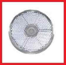 10x Seitenrückstrahler Reflektor weiß rund 60mm zum bohren