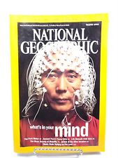 National Geographic March 2005 what' on your mind Peru Ireland