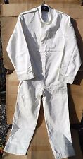 ROYAL NAVY ISSUE MANS ACTION DRESS GS WHITE FR HEAVY COTTON COVERALLS -170/92
