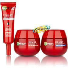 Garnier UltraLift Complete BeautyKit Day Night Serum Face Cream Xmas Gift Set