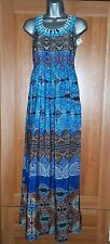 NEW Dorothy Perkins Ethnic Print Maxi Dress Size 6