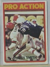 1972 Topps Bubba Smith Pro Action!!! Look!! Hot!!  #127