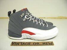 Nike Air Jordan XII 12 Cool Grey Retro GS 2012 sz 4Y taxi gamma flu game aqua ix