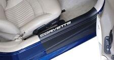 Corvette C5 97-04 Sill Protector Covers w/ Corvette Lettering