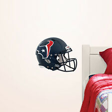 "HOUSTON TEXANS HELMET NFL Fathead Wall Graphics 11"" W x 9"" H (Poster/Sticker)"