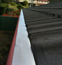 D-Fence Gutter Guard Aluminium Leaf Mesh - Free Delivery