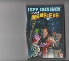 JEFF DUNHAM MINDING THE MONSTERS DVD VENTRILOQUIST