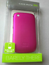 Case-Mate Barely There BACK CASE COVER PER BLACKBERRY CURVE 8520 9300-cm014745