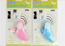Blue Angel Personal Panic Alarm With Key Ring Self Defense Protection Features!!