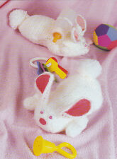 Crochet Pattern ~ HUGGY BUNNY Easter ~ Instructions