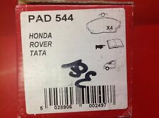 APEC FRONT BRAKE PADS TO SUIT LTI FX4D FX4R FX4S ROVER 800 TATA GURKA PAD544