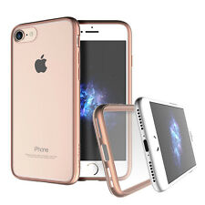 """Prodigee Scene Rose Pink iPhone 7 4.7"""" Clear Transparent Case Slim Cover"""