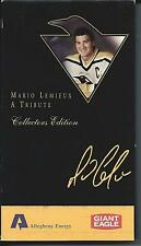 MARIO LEMIUEX SPECIAL TRIBUTE VHS 11/19/1997 IN ORIGINAL BOX