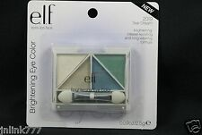 New E.L.F. Elf Brightening Quad Eye Color/Eyeshadow-2019 Teal Dream