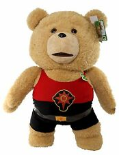 "NEW Limited Edition 24"" Talking TED 2 Plush In Flash Gordon Outfit + FREE S&H!"