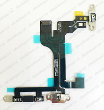 100% Original iPhone 5C Power, Volume & Mute Button Flex Cable & Brackets ON OFF