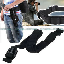Adjustable Padded Camera Waist Belt Lens Bag Holder Case Pouch Holder Pack Strap