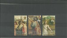 TRISTAN DA CUNHA-SG361-363-500TH BIRTH ANNIV OF RAPHAEL SET -MNH