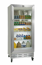 18CF KELVINATOR SINGLE GLASS DOOR REFRIGERATOR COOLER MERCHANDISER KCGM180RQY