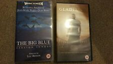 The Big Blue & Gladiator VHS Video tapes or choose others