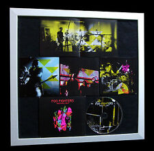 FOO FIGHTERS+Wasting Light+GALLERY QUALITY FRAMED+EXPRESS GLOBAL SHIP+Not Signed