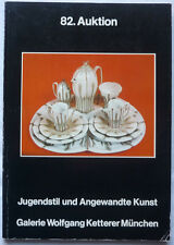 Ketterer ASTA CATALOGO Monaco 82 maggio 1984 Nouveau Art Deco 860 posizioni