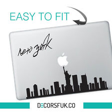 New York Macbook Stickers on vinyl | Laptop sticker | City Decals | New York art