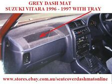 DASH MAT, DASHMAT, GREY DASHBOARD COVER FIT SUZUKI VITARA 1996 - 1997