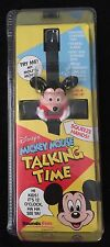 1991 TALKING MOVING DISNEY MICKEY MOUSE WATCH  NEVER OPENED MIP