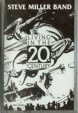 STEVE MILLER - Living in the 20th Century - Cassette - NEW