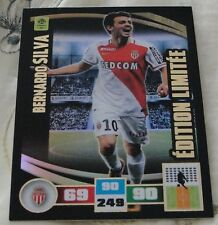 Adrenalyn 2016-17 Ligue 1 Bernardo Silva Rare Limited edition card NEW