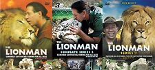 The Lionman COMPLETE COLLECTION SERIES 1 2 3 Craig Busch NEW SEALED UK R2 DVD